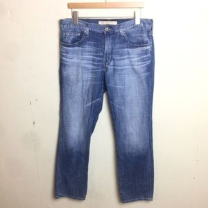 Big Star Division Straight Light Wash Jeans 34S